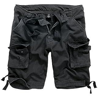 Brandit Herren Urban Legend Shorts, Schwarz (Black 2), 48 (Herstellergröße: S)
