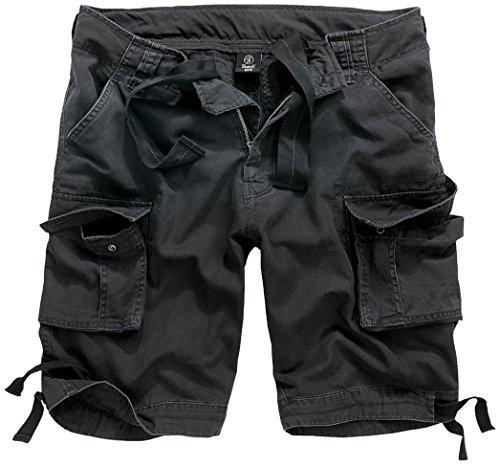 Brandit Herren Urban Legend Shorts, Schwarz (Black 2), 62 (Herstellergröße: 4XL) - Spas Legend