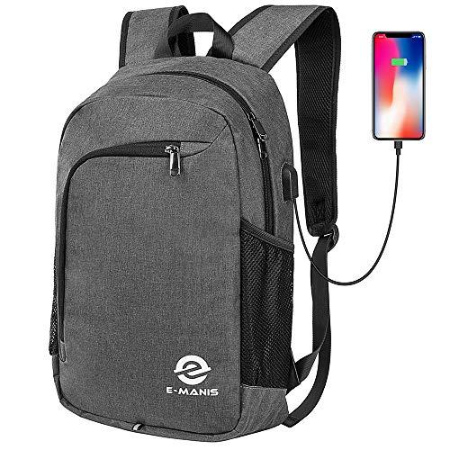 E-MANIS Mochila para portátiles, Mochila para Ordenador portatil 15.6