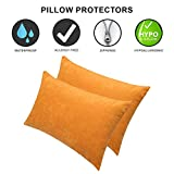 #4: Dream Care Waterproof Pillow Protector, 18 x 28 inch, Set of 2, Golden