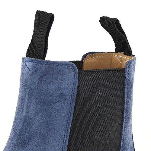 Sendra Boots Stiefel 5595 Vesuvio / Chelsea Boots Damen / Damen Stiefelette Blau Vesuvio