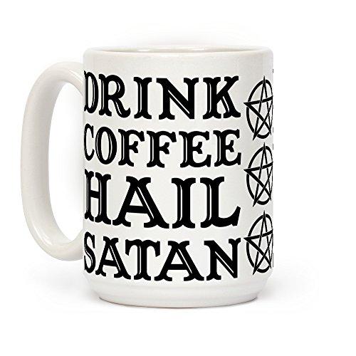 e, Hail Satan, Weiß, 425 ml ()