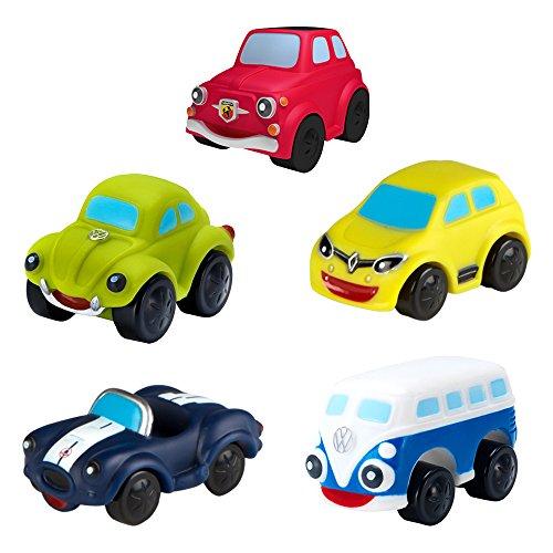 Motor Town - Pack 5 vehículos blanditos para bebés (modelos surtidos) (ColorBaby 43172)