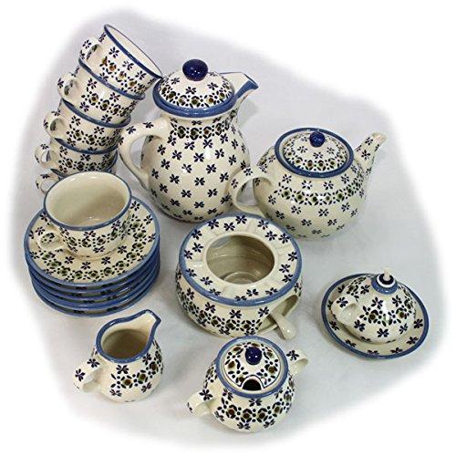 Bunzlauer Keramik - Kaffee-/Tee-Set