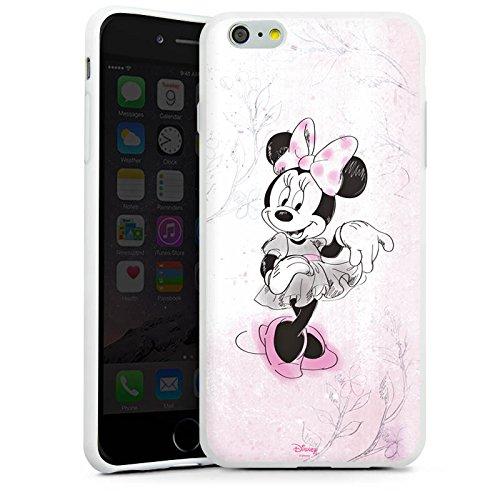 Apple iPhone SE Silikon Hülle Case Schutzhülle Disney Minnie Mouse Merchandise Geschenke Silikon Case weiß