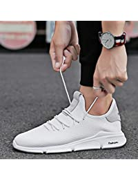 LOVDRAM Zapatos De Hombre Summer Net Shoes Mens Sports and Leisure Running Tide Shoes Korean Fashion