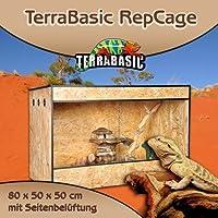 TerraBasic RepCage 80 x 50 x 50 con ventilazione laterale