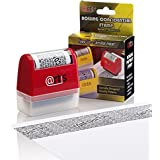 ID Protection Self Inking Stop Identity Theft Erase-It Hide Rolling Privacy Stamp
