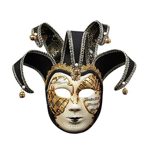 Vintage Augapfel Kostüm - Oyedens Halloween Maske Latex Festliche Partydekoration