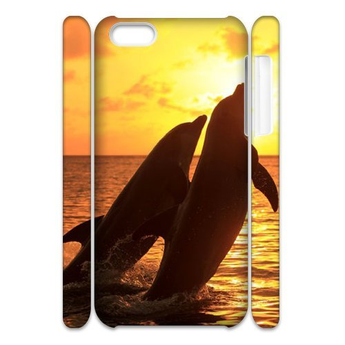 LP-LG Phone Case Of Dolphin For Iphone 4/4s [Pattern-6] Pattern-3