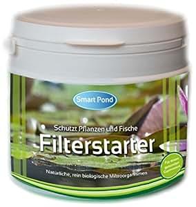 Filterstarter - 4000ml für 200.000 Liter Teichwasser inkl. Nährstoffe und Mineralien