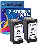 PlatinumSerie® 2 Druckerpatronen für HP 350 XL Black Officejet J6424 J6450 J6480 Photosmart C4200 C4225 C4270
