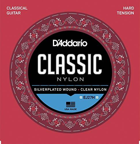 Cordes Guitare classique D'Addario EJ27 H Hard