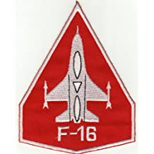 Parche con plancha applikation Iron on patches F 16Avión