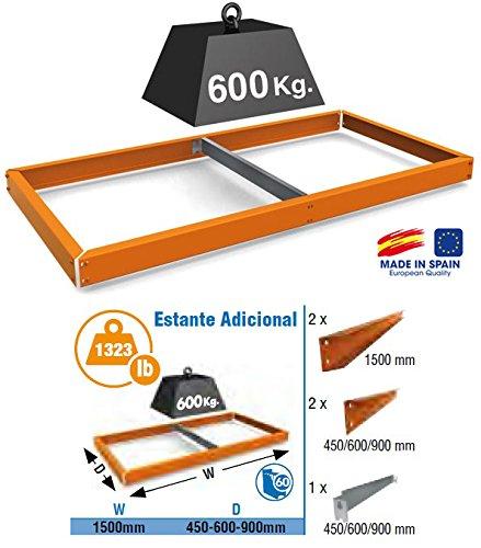 Preisvergleich Produktbild Regal Simonforte ea 1506 orange, 1500X600, Simonrack
