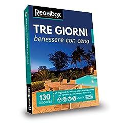 Idea Regalo - Regalbox - Tre giorni benessere con cena 2018 - Cofanetto regalo