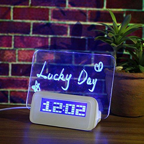Baban despertador/Luz suave inteligente línea de reloj + pluma +...