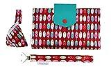 filia & filius Wickeltasche Baby Set 3-teilig mit Windeltasche Schnullertasche Schnullerband (Schutzengel)