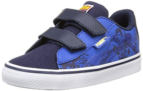 Puma 1948 Vulc Superman, Baskets Basses Mixte Enfant