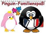 Pinguin-Familienspaß! / Geburtstagskalender (Tischkalender 2019 DIN A5 quer): Die lustige Cartoon-Familie in einem Kalender (Geburtstagskalender, 14 Seiten ) (CALVENDO Menschen)