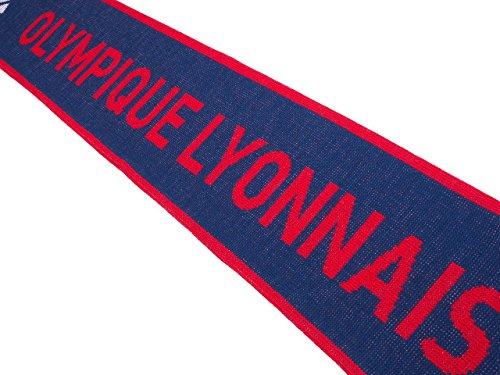 adidas Olympique Lyonnais Homme Echarpe Football Bleu Bleu