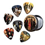 Black Eyed Peas Set of 6 Loose Guitar Médiators in Tin ( Collection C )