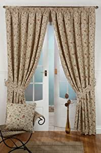 Tapestry lined curtain 46inch x 90inch(117cmx229cm)