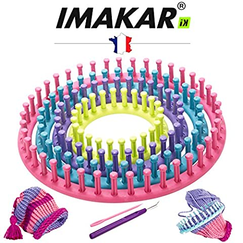 imakar® Complete Set of 4Dollies, Knitting Crafts. With this Magnificent Knitting Kit, Knit Socks, Scarves and Hats That'll to your friends.