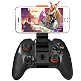 Meetyours Bluetooth Manette de jeu sans fil 4.0, contrôleur de jeu avec joystick pour iOS/Android/PC/PS3/Smart TV/tablette/PC/ordinateur portable/smartphone/VR