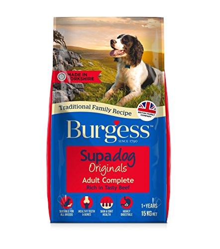 Supadog Burgess Reich an Britische Hähnchen Erwachsener Hund Futter - Mehrfarbig, 15 kg
