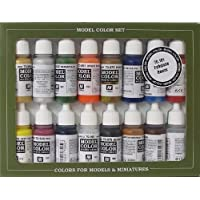Vallejo Model Color - Set de pintura acrílica (16 unidades), multicolor