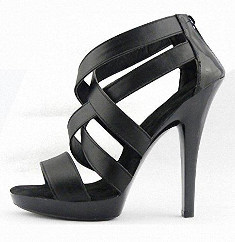 vera-pelle-estate-delle-donne-eccellente-impermeabile-tacco-alto-scavato-sandali-sono-black-39