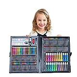 Set de peinture pour enfants stylo aquarelle art boîte cadeau brosse boîte à outils outil de peinture (168 pièces)