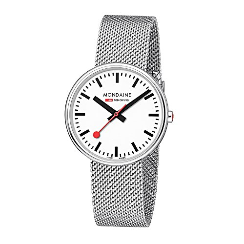 Mondaine Womens Quartz Watch, Analogue Classic Display and Stainless Steel Strap MSX.3511B.SM