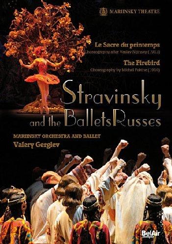 Preisvergleich Produktbild Strawinsky und die Ballets Russes - Der Feuervogel & Le sacre du printemps
