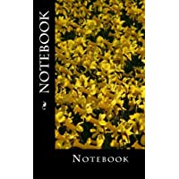 """Notebook: Daffodils Design, 150 lined pages, softcover, 5"""" x 8"""""""