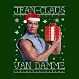 Jean Claus Van Damme Christmas Knit Men's T-Shirt