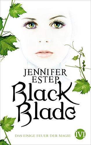 Buchseite und Rezensionen zu 'Black Blade: Das eisige Feuer der Magie' von Jennifer Estep