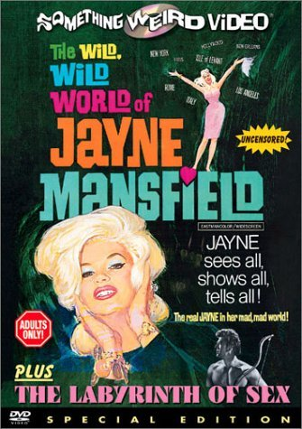 Double Feature (The Wild, Wild World of Jayne Mansfield / Labyrinth of Sex) by Jayne Mansfield