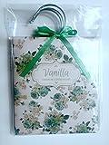 Floreale Decorato profumata armadio Hanger bustine–Confezione da 3–Scegli Lavanda/Rosa/Vaniglia/gelsomino