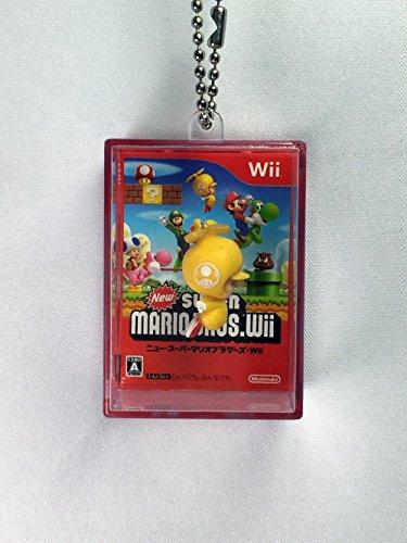 Gelb Kröte-New Super Mario Bros WII rittai Jacke Clear Box Swing Maskottchen