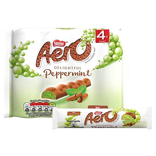 Aero Peppermint Bubbly Bar Multipack 4 x 27g