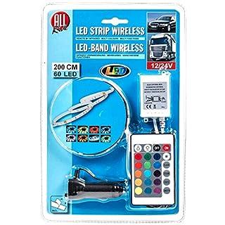 LED-Deko-Band, außen mit Infrarot-Fernbedienung, mehrfarbig, multifunktional, 12/24V, 60 LEDs, 200cm