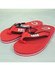 Cincinnati Reds MLB Contoured Flip Flop Sandals