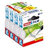 tesa Sparpack matt-unsichtbar 3+1 gratis 4x 33m:19mm