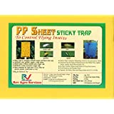 Rev Agro Yellow Sticky Trap (Pack of 25 Pieces)