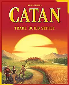 Catan Board Game - Multi-color