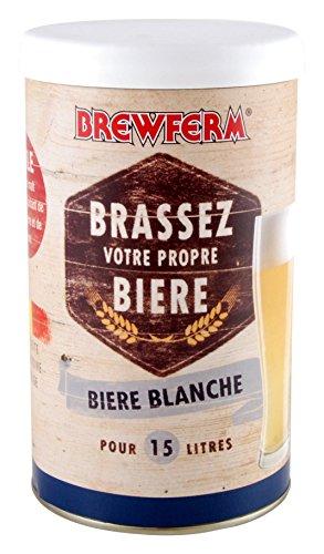 Radis et Capucine Extrait Malt 15L bière Blanche pour Brassage DIY, Multicolore, 10x10x18 cm