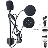 Freedconn Tech Accessori microfono altoparlante auricolare cavo del disco per il motociclo del casco Bluetooth Interphone Cuffie Intercom per BT citofono citofono