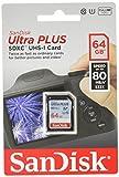 Tarjeta de memoria SDXC SanDisk Ultra Plus Clase 10 64 gb
